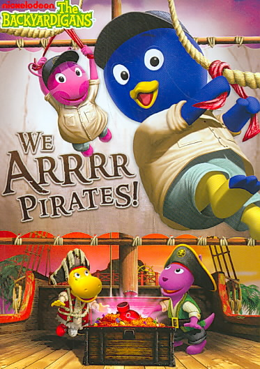 BACKYARDIGANS:WE ARRRR PIRATES BY BACKYARDIGANS (DVD)
